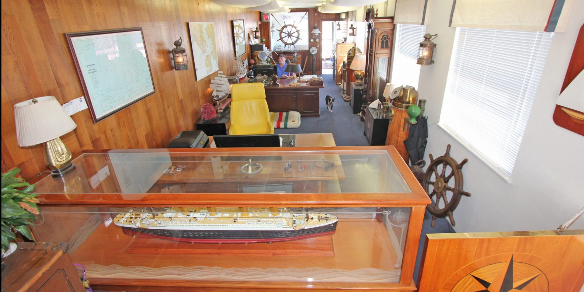 marotta yachts office interior